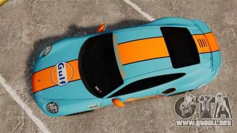 Porsche 911 Turbo 2014 [EPM] Gulf para GTA 4 visión correcta