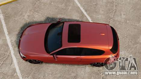BMW M135i 2013 para GTA 4 visión correcta