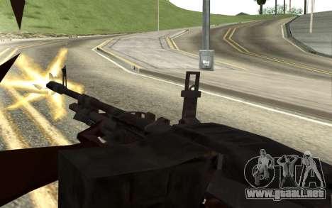 M60E4 para GTA San Andreas quinta pantalla