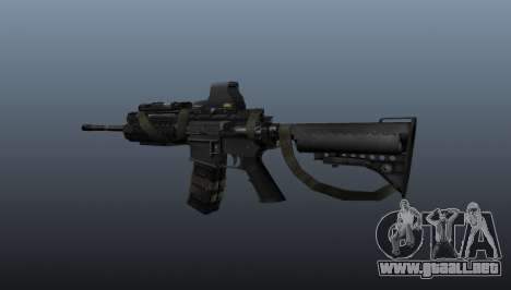 M4 Carbine Sopmod señores para GTA 4 segundos de pantalla