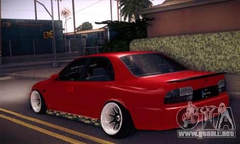 Proton Wira Hype para GTA San Andreas left
