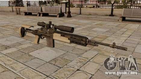 Rifle de francotirador M14 para GTA 4