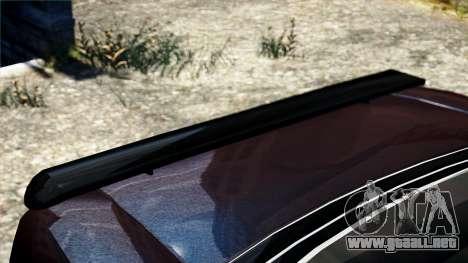 Cazador de caballería de Burnout Paradise para GTA 4 visión correcta