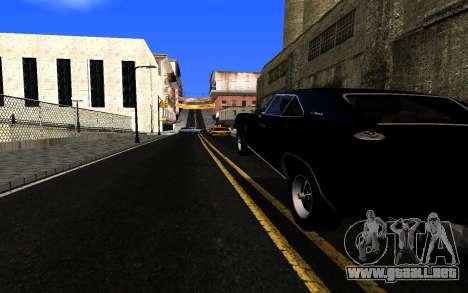 ENBSeries v3 para GTA San Andreas segunda pantalla