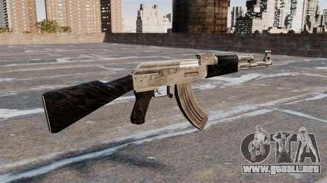 AK-47 actualizado para GTA 4 segundos de pantalla