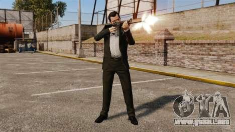 Michael de Santa para GTA 4 tercera pantalla