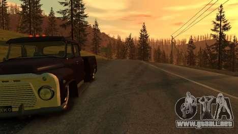 GAZ 53 para GTA 4 vista hacia atrás