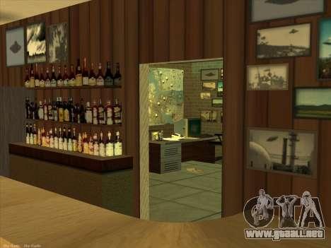 Nuevas texturas para interior para GTA San Andreas octavo de pantalla