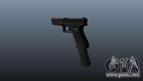 Pistola ametralladora Glock 18 para GTA 4 segundos de pantalla