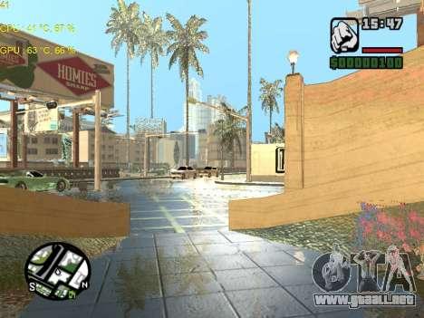 SA Render Public-Beta v0.1 para GTA San Andreas tercera pantalla