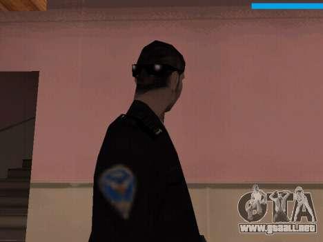 New Police para GTA San Andreas tercera pantalla