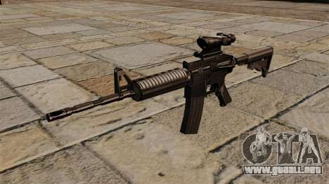 Automático carabina M4A1 ACOG para GTA 4