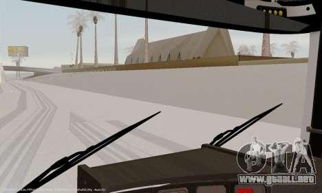 Tablero de instrumentos activos v3.2 completo para GTA San Andreas sexta pantalla