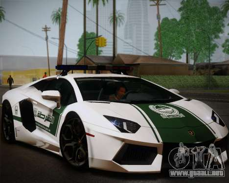 Lamborghini Aventador LP700-4 2012 RCPD V1.0 para GTA San Andreas