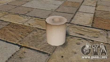 Papel higiénico para GTA 4