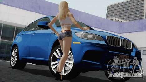 BMW X6M para la vista superior GTA San Andreas