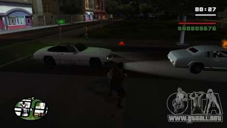 Brass Knuckles para GTA San Andreas quinta pantalla