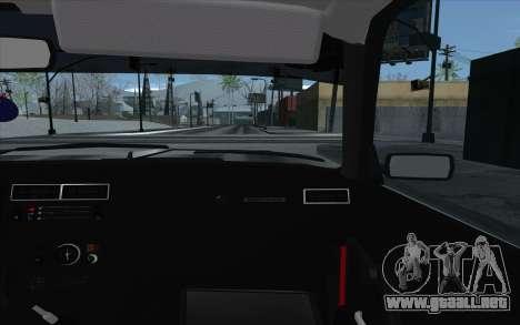 VAZ 2107 para las ruedas de GTA San Andreas