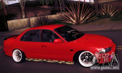 Proton Wira Hype para la visión correcta GTA San Andreas