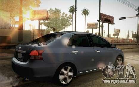 Toyota Vios 2008 para GTA San Andreas left