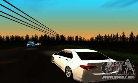 Honda Accord Tuning para GTA San Andreas vista posterior izquierda