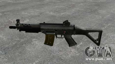 Fusil SIG SG 552 para GTA 4 tercera pantalla
