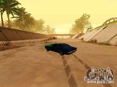Chevrolet Camaro z28 Falken edition para visión interna GTA San Andreas