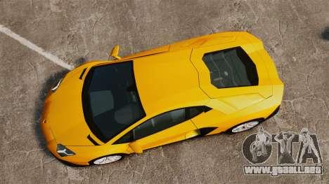 Lamborghini Aventador LP720-4 50th Anniversario para GTA 4 visión correcta
