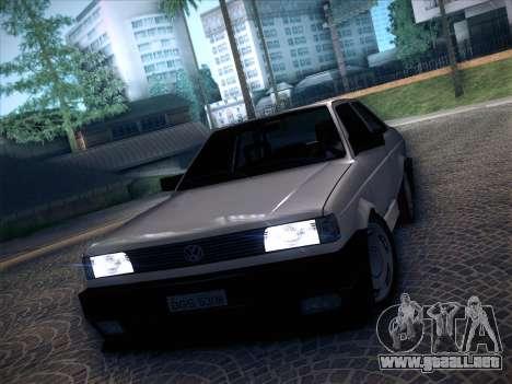 Volkswagen Voyage GL 94 2.0 para GTA San Andreas vista posterior izquierda