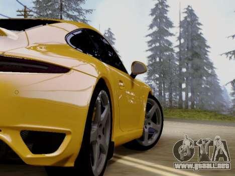 RUF RGT-8 para GTA San Andreas vista hacia atrás
