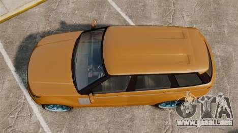 GTA V Gallivanter Baller para GTA 4 visión correcta