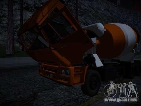Tablero de instrumentos activos v3.2 completo para GTA San Andreas séptima pantalla