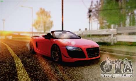 Reflective ENBSeries v1.0 para GTA San Andreas octavo de pantalla