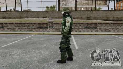 Un comando americano urbano para GTA 4 segundos de pantalla
