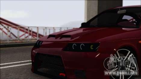 VAZ-2112 deportes para GTA San Andreas vista posterior izquierda