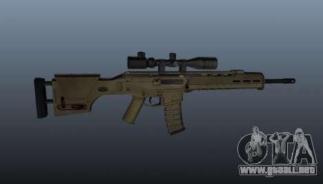 Fusil automático de Magpul Masada para GTA 4 tercera pantalla