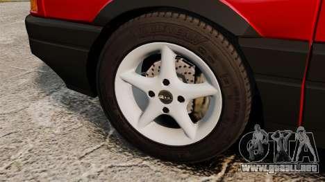 Volkswagen Passat B3 1995 para GTA 4 vista hacia atrás
