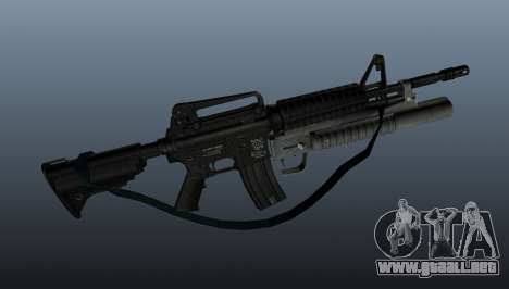 Automático carabina M4A1 v1 para GTA 4 tercera pantalla