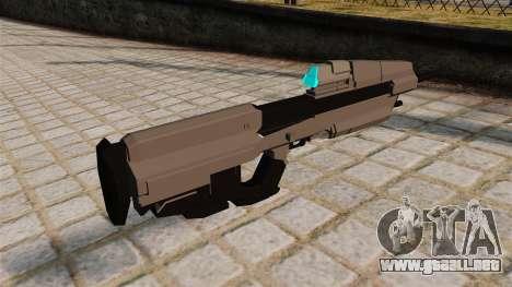 El fusil de asalto de Halo para GTA 4 segundos de pantalla