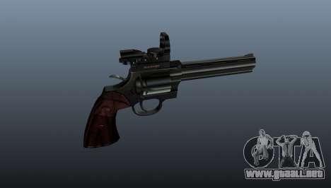 Revólver Colt Python 357 Aimshot para GTA 4 tercera pantalla