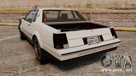 Sabre Rod Ride para GTA 4 Vista posterior izquierda