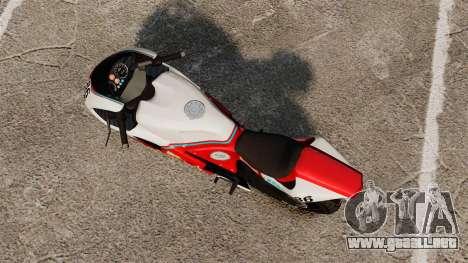 GTA IV TLAD Bati v2 para GTA 4 Vista posterior izquierda