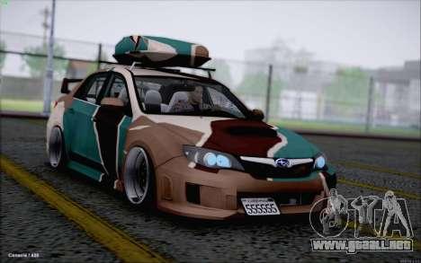 Subaru Impreza Arma para GTA San Andreas