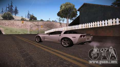 Chevrolet Corvette para GTA San Andreas left
