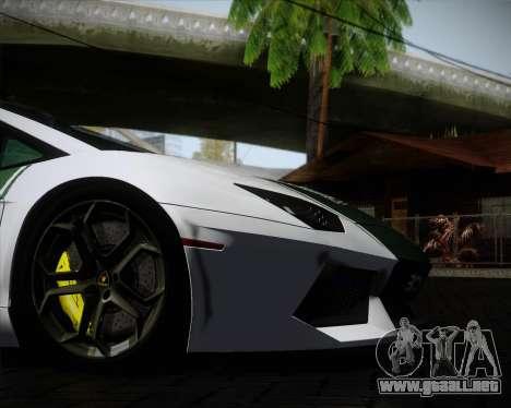 Lamborghini Aventador LP700-4 2012 RCPD V1.0 para la vista superior GTA San Andreas