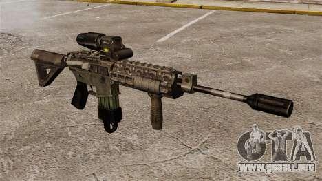 M4 Carbine híbrido alcance para GTA 4