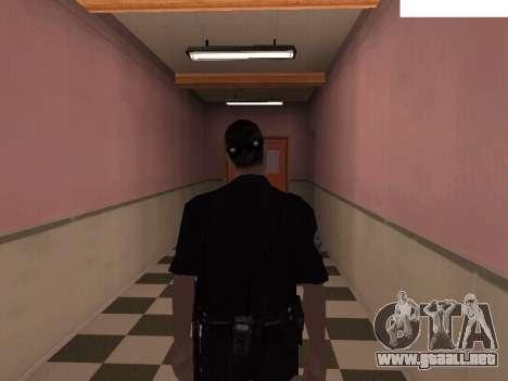 New Police para GTA San Andreas segunda pantalla