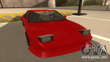 Nissan Onevia para GTA San Andreas left