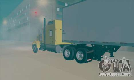 Kenworth W900L para GTA San Andreas left
