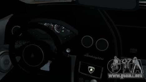 Lamborghini Murcielago LP640 2007 [EPM] para GTA 4 vista desde abajo